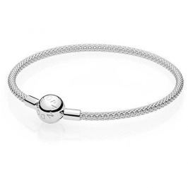Pandora Pevný stříbrný náramek 596543 (Délka 21 cm) stříbro 925/1000