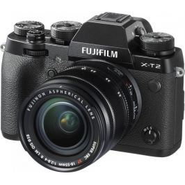FujiFilm X-T2 + XF 18-55 Black