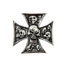 Highway-Hawk samolepící emblém  GRAVE-X SMALL - lebky v kříži