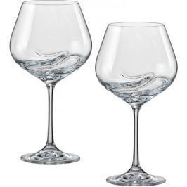 Crystalex sklenice na víno Turbulence 570 ml, 2 ks