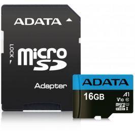 Adata MicroSDHC 16GB UHS-I 85/20MB/s + ad (AUSDH16GUICL10A1-RA1)
