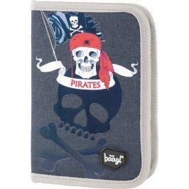 BAAGL Školní penál klasik Piráti