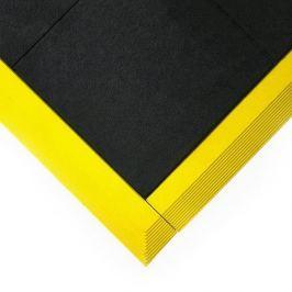 Olejivzdorná protiskluzová protiúnavová průmyslová modulární rohož Fatigue - 90 x 90 x 1,6 cm