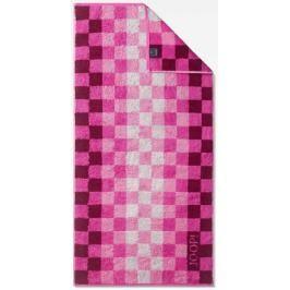 Joop! Ručník Squares 50x100 cm, 3ks purpurová
