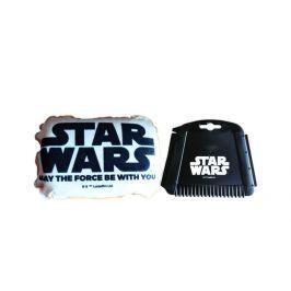 KAJA Zimní dárkový set do auta, motiv Star Wars, škrabka i houba nápis Star Wars