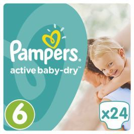 Pampers Active Baby Mid Pack S6 24ks