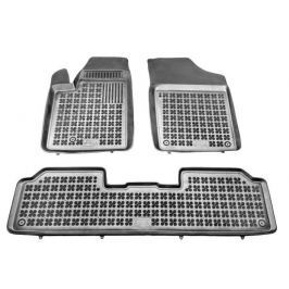 REZAW-PLAST Gumové koberce, sada 3 ks (2x přední, 1x spojený zadní), Citroen Berlingo I 1997-2010, Peugeot Partner I 1997-2008