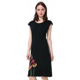 Desigual dámské šaty Sara XS černá