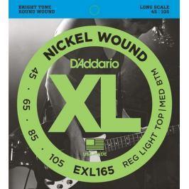 Daddario EXL165 Struny pro baskytaru