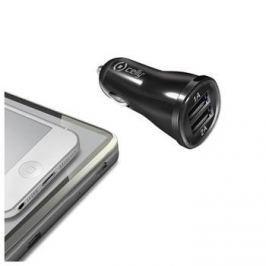 Celly autonabíječka, 2 x USB výstup, 2,1 A, černá