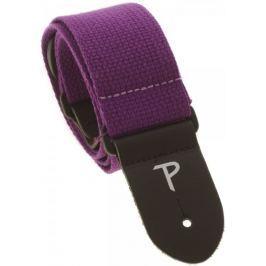 Perris Leathers 1683 Basic Cotton Purple Kytarový popruh