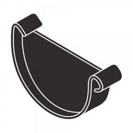 LanitPlast Čelo žlabu RG 125 půlkulaté antracitová barva