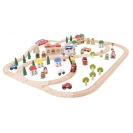 Bigjigs Rail Město a vesnice 101 dílů