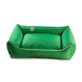 Argi pelech obdélníkový - snímatelný potah zelený vel. S