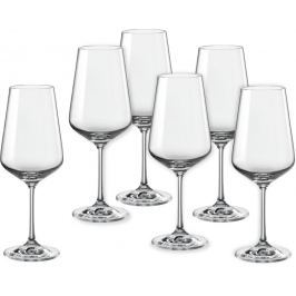 Crystalex sklenice na víno Sandra 450 ml, 6 ks