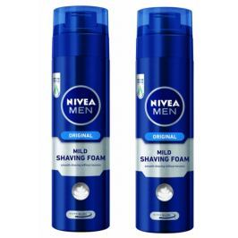 Nivea Men Pěna na holení Original 200 ml 2 ks
