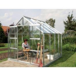 VITAVIA skleník VITAVIA URANUS 6700 matné sklo 4 mm stříbrný