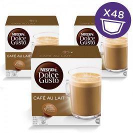 NESCAFÉ DOLCE GUSTO Café au Lait kávové kapsle, 3 x 16 ks