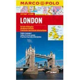 London - City Map 1:15000
