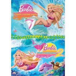 Barbie kolekce: Příběh mořské panny 1+2 (2DVD)   - DVD
