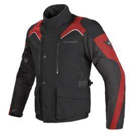Dainese bunda TEMPEST D-DRY vel.52 černá/černá/červená, textilní