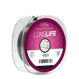 FIN Vlasec Long Life Šedá 0,35 mm, 22,2 lb