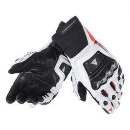 Dainese rukavice RACE PRO IN vel.S černá/fluo červená/bílá (pár)