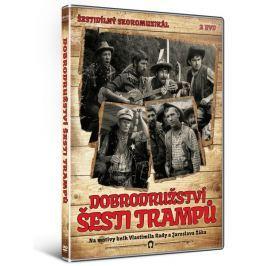 Dobrodružství šesti trampů (2DVD)   - DVD