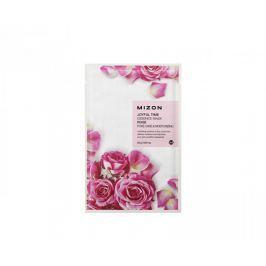 MIZON Plátýnková 3D maska s výtažkem z růže pro suchou pleť Joyful Time (Essence Mask Rose) 23 g