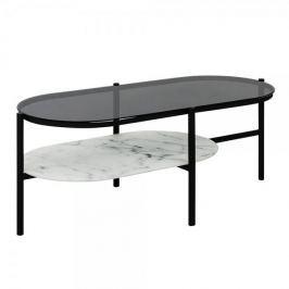 Design Scandinavia Konferenční stolek oválný Agama, 115 cm