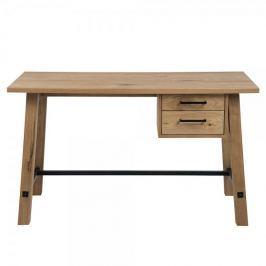 Design Scandinavia Pracovní stůl se zásuvkami Kiruna, 130 cm