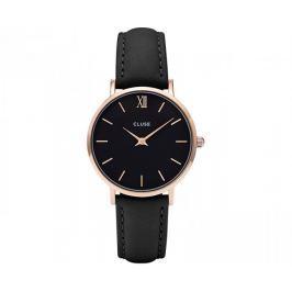 Cluse Minuit Rose Gold Black/Black CL30022