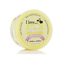 I Love Cosmetics Tělový peeling z našlehaného cukru s vůní citronových sněhových pusinek (Lemon Meringue Whipped Suga