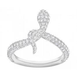 Swarovski Třpytivý hadí prsten LESLIE 5402446 (Obvod 52 mm)