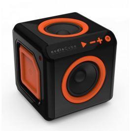 PowerCube audioCube, černá/oranžová - rozbaleno