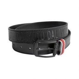 Dainese kožený pásek SETTANTADUE černý, délka 105cm