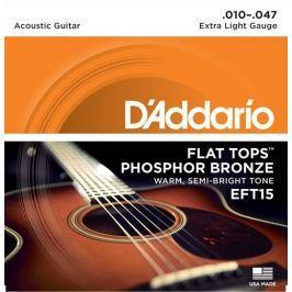 Daddario EFT15 Kovové struny pro akustickou kytaru