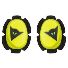 Dainese kolenní slidery PISTA, fluo žlutá/černá (pár)