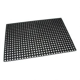 FLOMAT Gumová vstupní čistící rohož na hrubé nečistoty Honeycomb - 120 x 80 x 2,2 cm