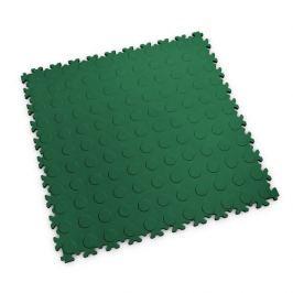 Fortelock Zelená plastová vinylová zátěžová dlaždice Industry 2040 (penízky) - 51 x 51 x 0,7 cm