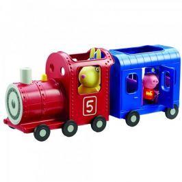 TM Toys Peppa Pig - vláček + 2 figurky