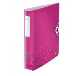 Mobilní pořadač Leitz 180° ACTIVE WOW A4 6,5 cm metalicky růžový