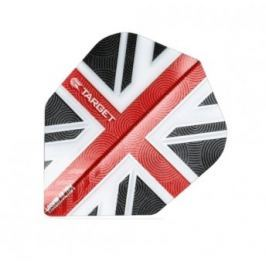 Target – darts Letky VISION 100 Standard UK Clear Red 34331430