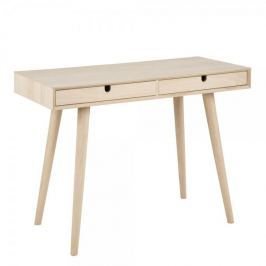 Design Scandinavia Pracovní stůl se zásuvkami Delica, 100 cm