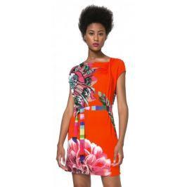 Desigual dámské šaty Septiembre S vícebarevná