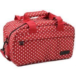 Member's Cestovní taška 14L SB-0043 červená/bílá