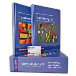 Táborský Miloš a kolektiv: Kardiologie I. + II. (komplet 2 knihy  pouzdře)