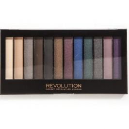 Makeup Revolution Paletka očních stínů Hot Smoked
