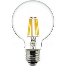 Retlux Žárovka 222 LED globe E27 6W teplá bílá, filament