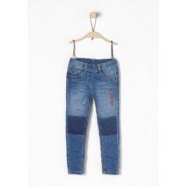 s.Oliver dívčí kalhoty 104 modrá